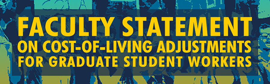 Faculty Statement on Cost-of-Living Adjustments